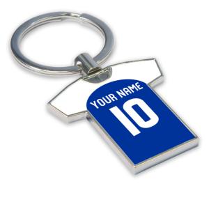 Personalised Kilmarnock Football Shirt Key Ring