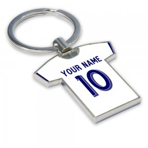 Personalised LA Galaxy Football Shirt Key Ring