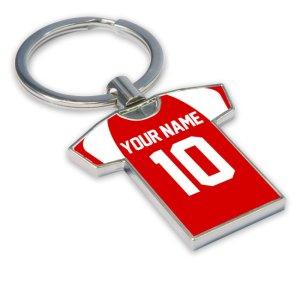Personalised Mainz 05 Football Shirt Key Ring