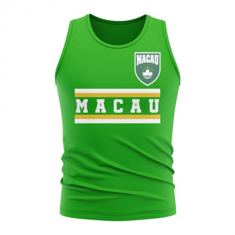 Macau Core Football Country Sleeveless Tee (Green)