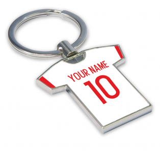 Personalised Olympiacos Football Shirt Key Ring