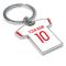Personalised Olympiacos Football Shirt Key Ring