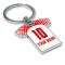 Personalised RB Leipzig Football Shirt Key Ring