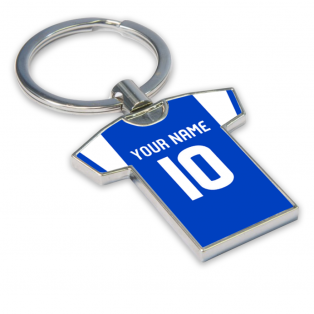 Personalised St Johnstone Football Shirt Key Ring