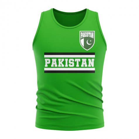Pakistan Core Football Country Sleeveless Tee (Green)