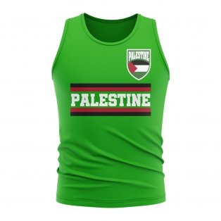 Palestine Core Football Country Sleeveless Tee (Green)