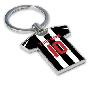 Personalised St Mirren Football Shirt Key Ring