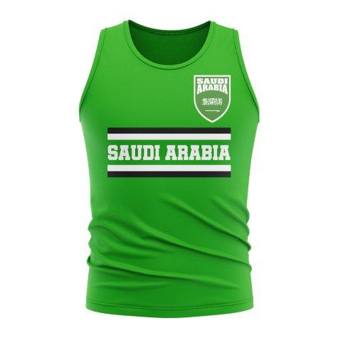 Saudi Arabia Core Football Country Sleeveless Tee (Green)