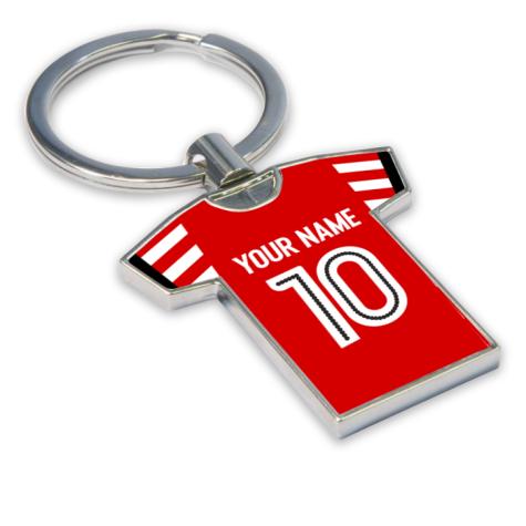 Personalised Sunderland Football Shirt Key Ring