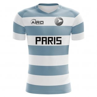 2020-2021 Racing Paris Home Concept Football Shirt - Kids