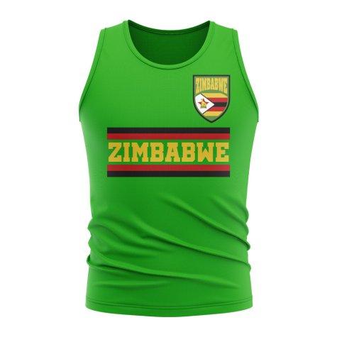 Zimbabwe Core Football Country Sleeveless Tee (Green)