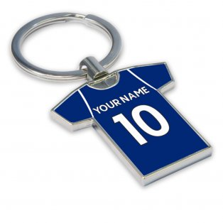 Personalised West Brom Football Shirt Key Ring