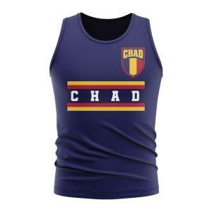 Chad Core Football Country Sleeveless Tee (Navy)