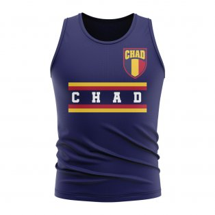Chad Core Football Country Sleeveless Tee (Navy)