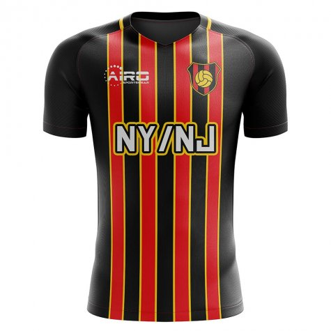 2019-2020 Metrostars Home Concept Football Shirt