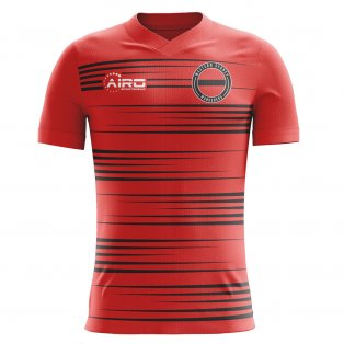2020-2021 Western Sydney Wanderers Home Concept Football Shirt - Kids