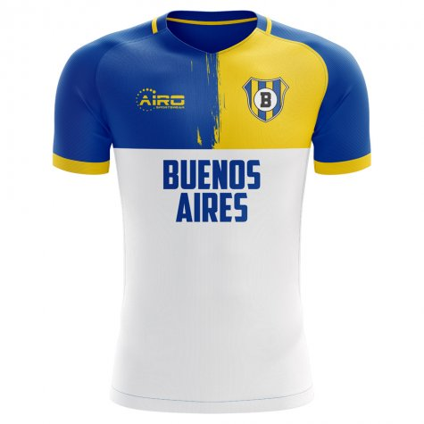 2020-2021 Boca Juniors Away Concept Football Shirt