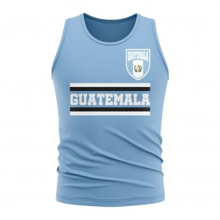Guatemala Core Football Country Sleeveless Tee (Sky)