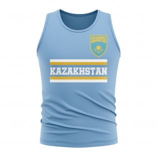 Kazakhstan Core Football Country Sleeveless Tee (Sky)