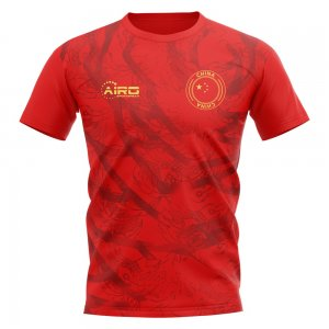 2020-2021 China Home Concept Football Shirt - Kids