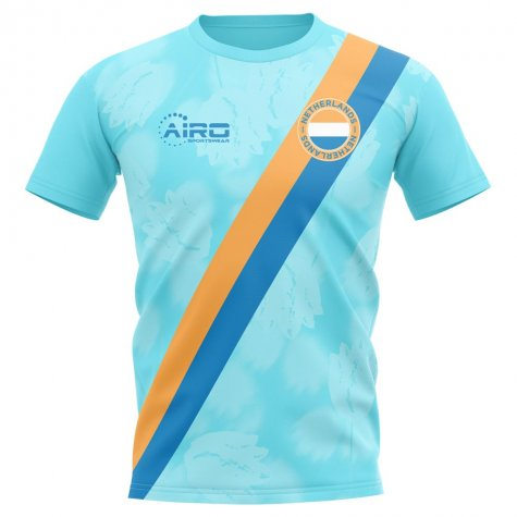 2019-2020 Holland Away Concept Football Shirt - Womens