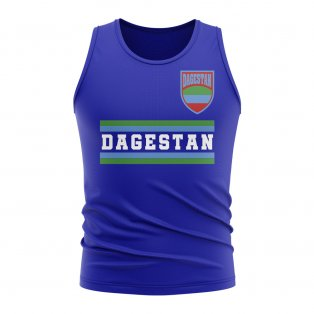 Dagestan Core Football Country Sleeveless Tee (Royal)