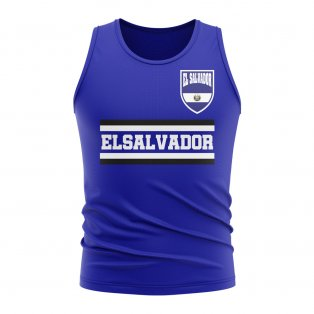 El Salvador Core Football Country Sleeveless Tee (Royal)