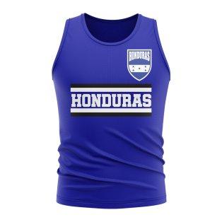 Honduras Core Football Country Sleeveless Tee (Royal)