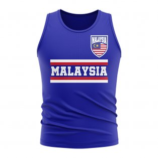 Malaysia Core Football Country Sleeveless Tee (Royal)