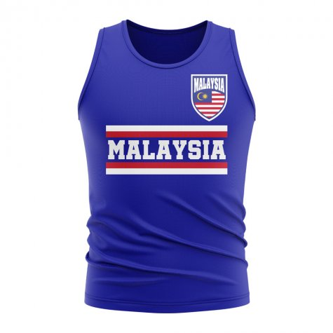 Malaysia Core Football Country Sleeveless Tee (Royal)
