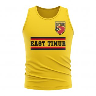 East Timur Core Football Country Sleeveless Tee (Yellow)