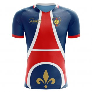 2020-2021 Paris Home Concept Football Shirt