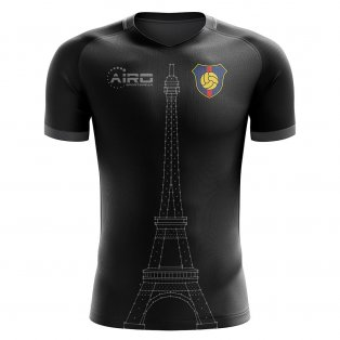 2020-2021 Paris Tower Concept Football Shirt - Baby