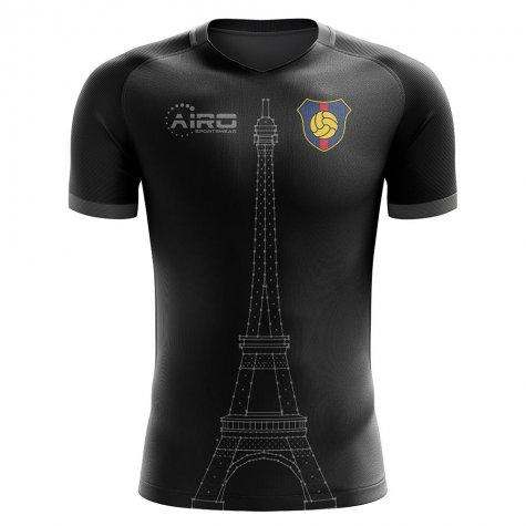 2020-2021 Paris Tower Concept Football Shirt