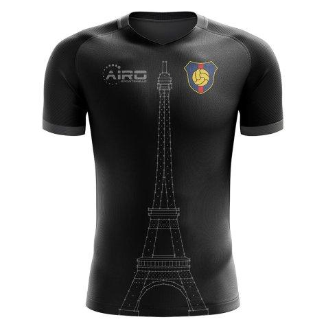 2019-2020 Paris Tower Concept Football Shirt