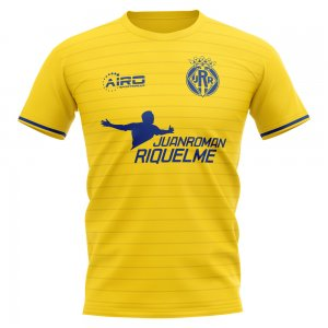 2020-2021 Villarreal Juan Roman Riquelme Concept Football Shirt - Little Boys