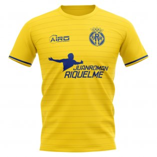 2020-2021 Villarreal Juan Roman Riquelme Concept Football Shirt - Kids