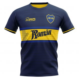 2020-2021 Boca Juniors Juan Roman Riquelme Concept Football Shirt