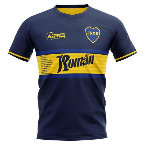 2019-2020 Boca Juniors Juan Roman Riquelme Concept Football Shirt