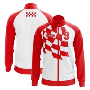 2019-2020 Croatia Davor Suker Concept Track Jacket