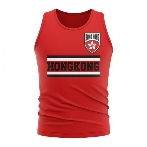 Hong Kong Core Football Country Sleeveless Tee (Red)