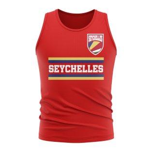 Seychelles Core Football Country Sleeveless Tee (Red)