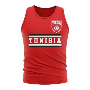 Tunisia Core Football Country Sleeveless Tee (Red)