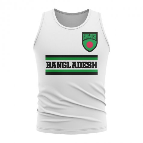 Bangladesh Core Football Country Sleeveless Tee (White)
