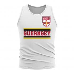 Guernsey Core Football Country Sleeveless Tee (White)