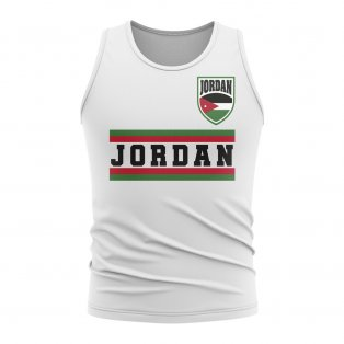 Jordan Core Football Country Sleeveless Tee (White)