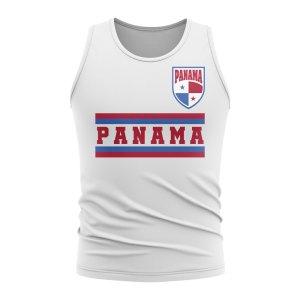 Panama Core Football Country Sleeveless Tee (White)