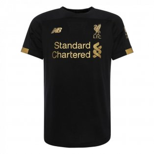 2019-2020 Liverpool Home Short Sleeve Goalkeeper Shirt (Kids)