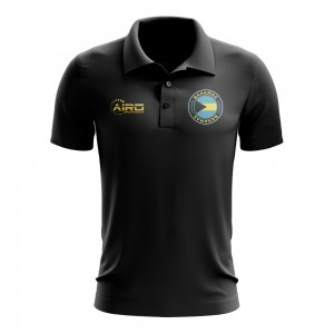 Bahamas Football Polo Shirt (Black)