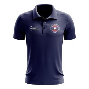 Laos Football Polo Shirt (Navy)
